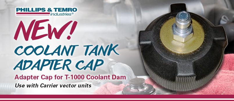 NEW! Phillips & Temro Coolant Tank Adapter Cap for T-1000 Coolant Dam