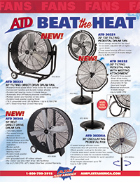 Beat the Heat with ATD Fans