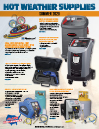 Hot Weather Supplies Flyer