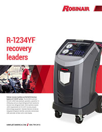 Robinair R-1234YF Recovery Leaders Flyer